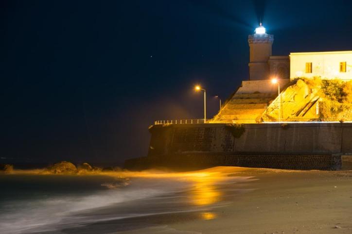 Sicily, A lighthouse