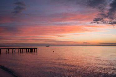 Lago di Garda al tramonto