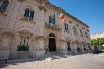 """Il commissariato di Montalbano a """"Vigata"""", Scicli."""