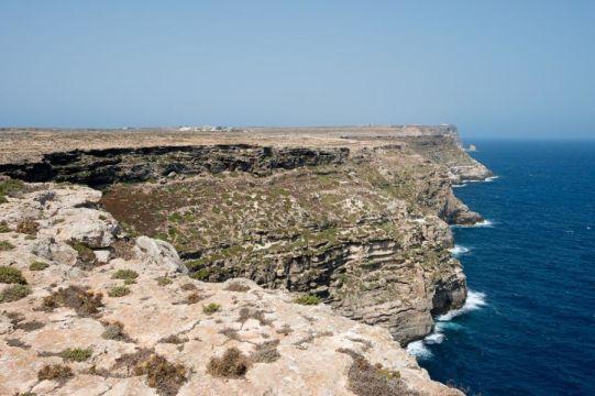 Lampedusa costa Nord