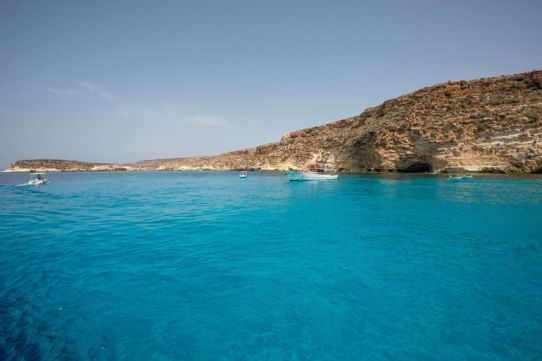 Giro attorno all'isola di Lampedusa