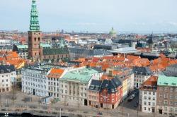 Vista dall'alto da Palazzo di Christiansborg