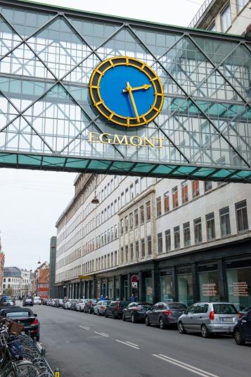 Una strada di Copenaghen