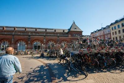 Una delle stazioni di Copenaghen