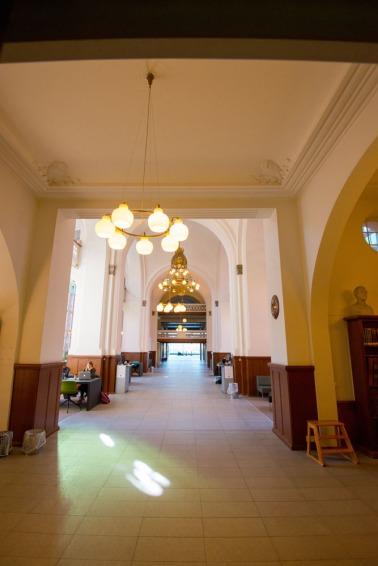 Il Diamante Nero, biblioteca Reale