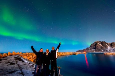 Aurora Boreale, The Team